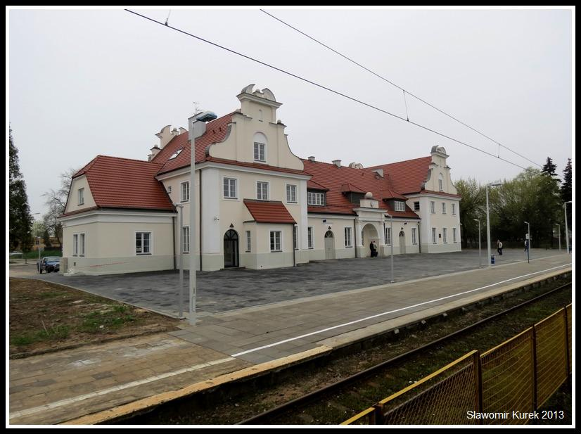 Koło - budynek stacji