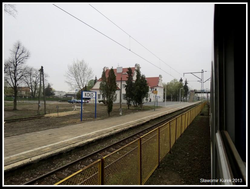 Koło - peron