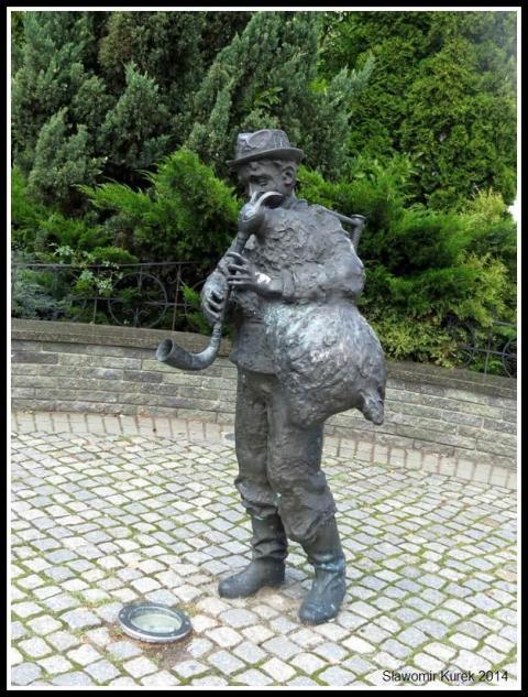 Zbąszyń - pomnik muzykanta