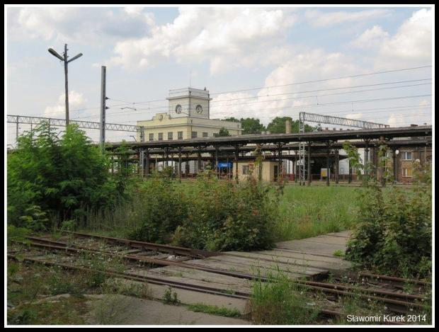 Zbąszyń - stacja zza torowiska