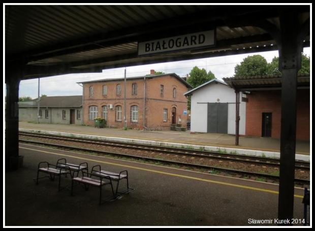 Białogard - peron (2)
