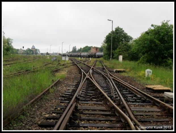 Żagań - perony i torowiska 1