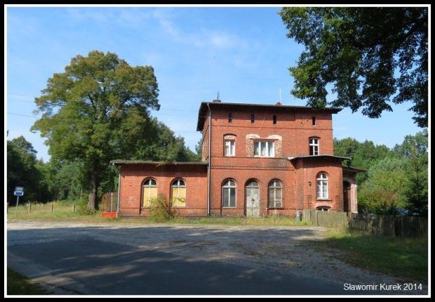 Lipsk Żarski - stacja i okolice 1