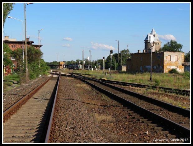 Żagań - perony i torowiska 10