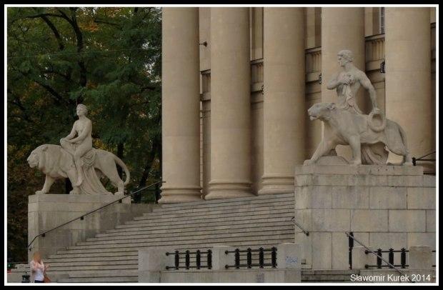 Poznań - lew i pantera