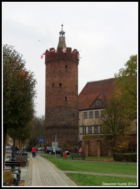 Gubin - wieża bramy Ostrowskiej
