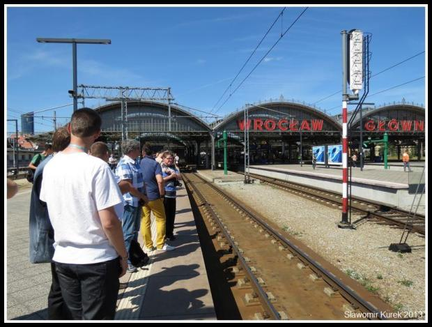 Wrocław - czekając na pendolino 1