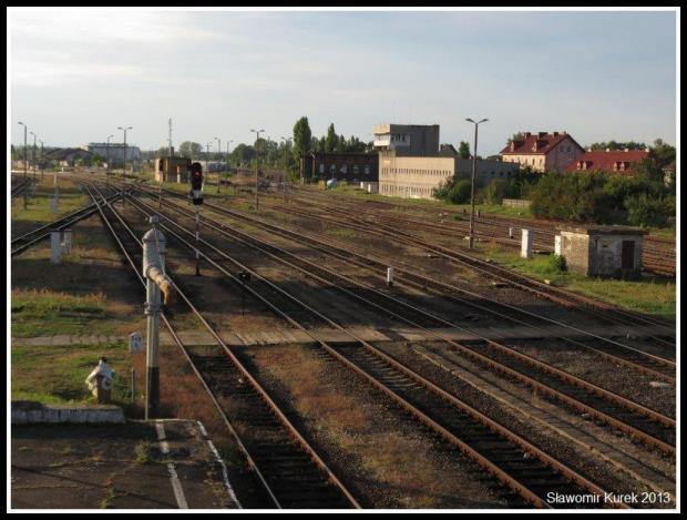 Żagań - perony i torowiska 9