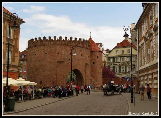 Warszawa - Barbakan 1