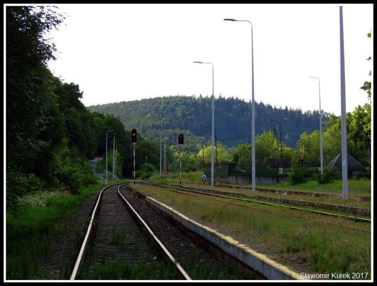 Wleń -stacja kolejowa 3
