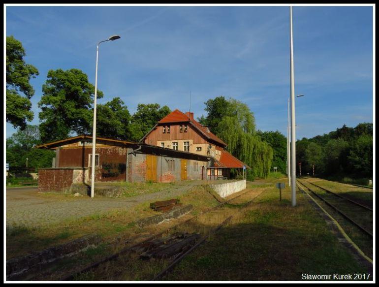 Wleń -stacja kolejowa 1