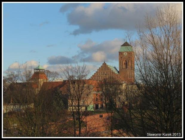 Żagań - panorama grudniowa 3