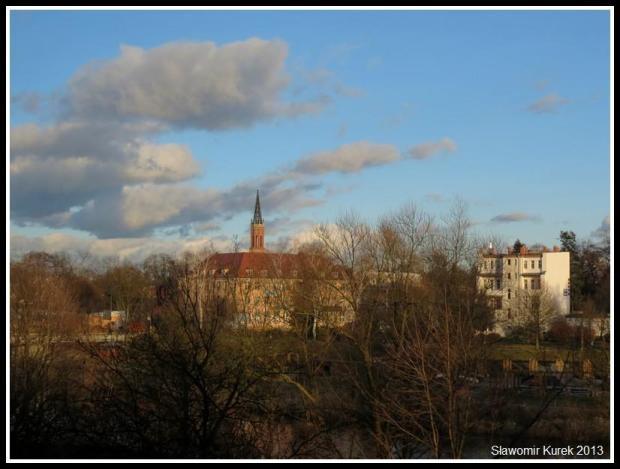 Żagań - panorama grudniowa 4