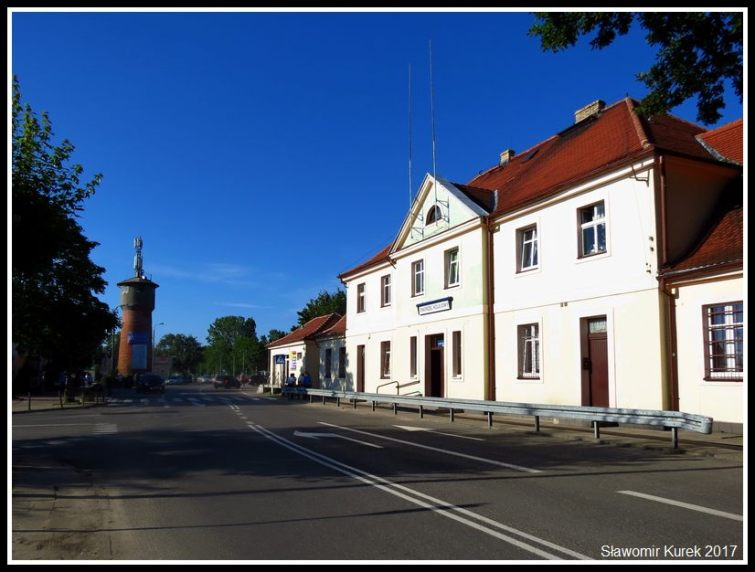 Władysławowo - budynek stacji 3