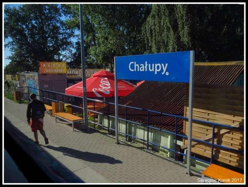 Chałupy - przystanek kolejowy