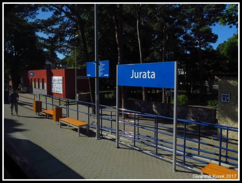 Jurata - przystanek kolejowy 2