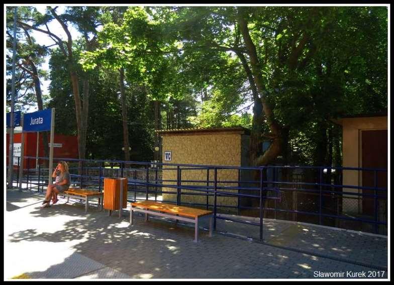 Jurata - przystanek kolejowy 4