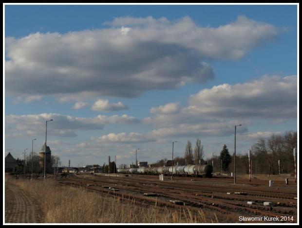 Żagań - perony i torowiska 4