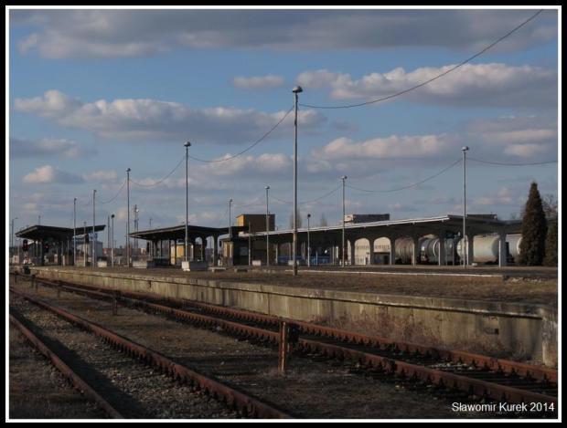 Żagań - perony i torowiska 5