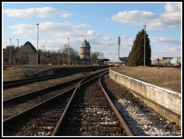Żagań - perony i torowiska 6
