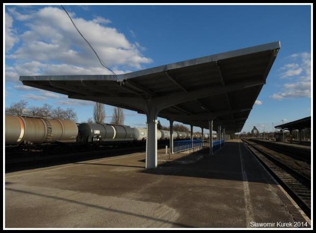 Żagań - perony i torowiska 8