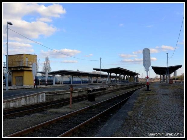 Żagań - perony i torowiska 7