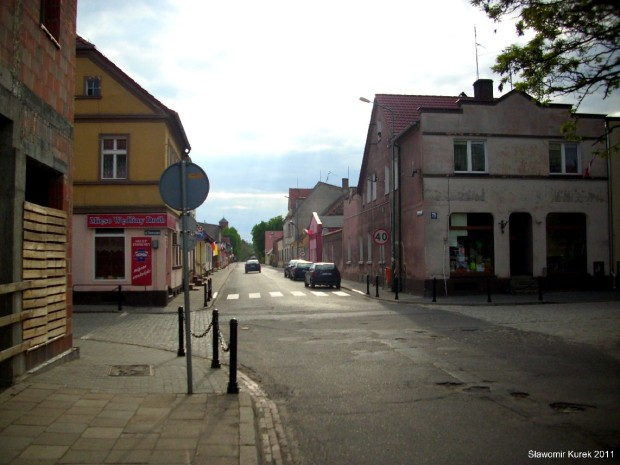 Kargowa Uliczka odchodząca od Rynku