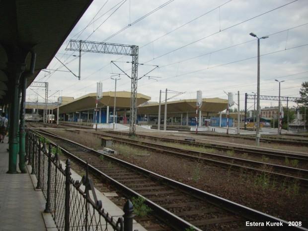 widok na krakowskie perony
