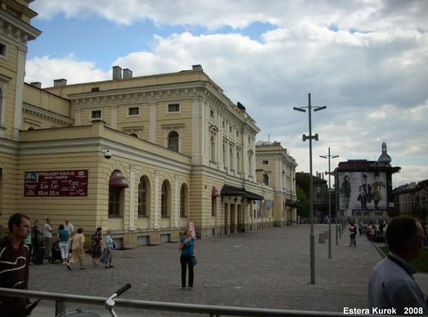 Kraków Główny od ulicy
