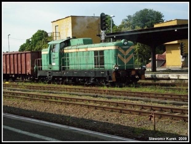 SM42-449 manewruje w Żaganiu