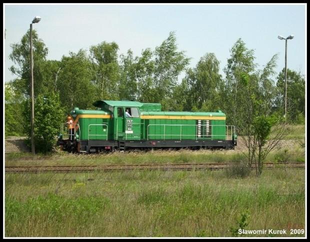 SM42-869 w Żaganiu