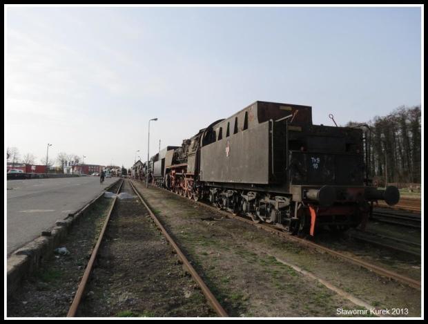 Wolsztyn - sznur parowozów 2