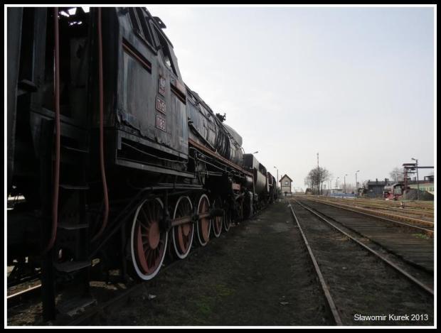 Wolsztyn - sznur parowozów 3