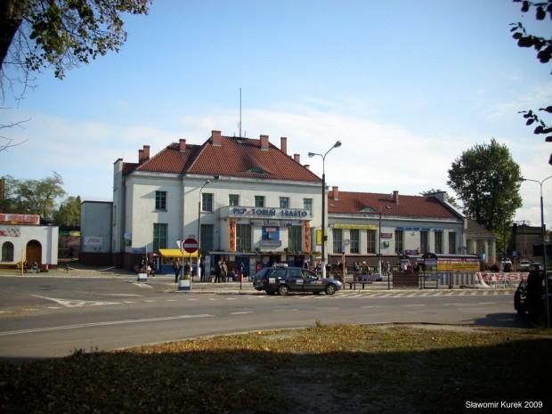 Toruń Miasto - budynek stacji