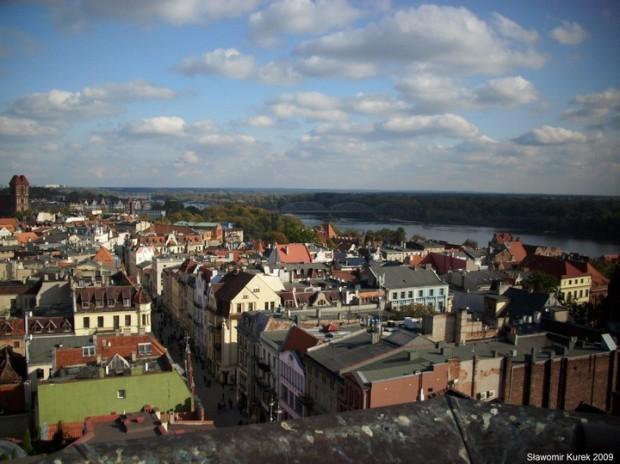 widok z wieży ratuszowej 1
