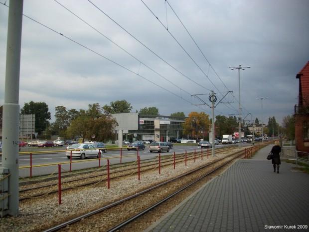 okolice stacji Torun Wschodni i galerii Copernicus